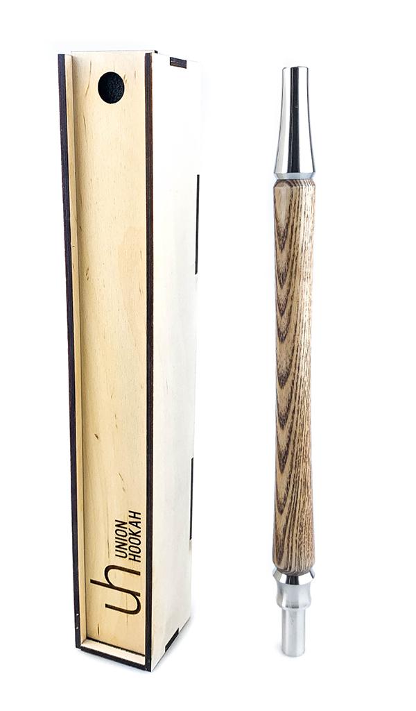 Náustek dřevěný Union Sleek Caramel