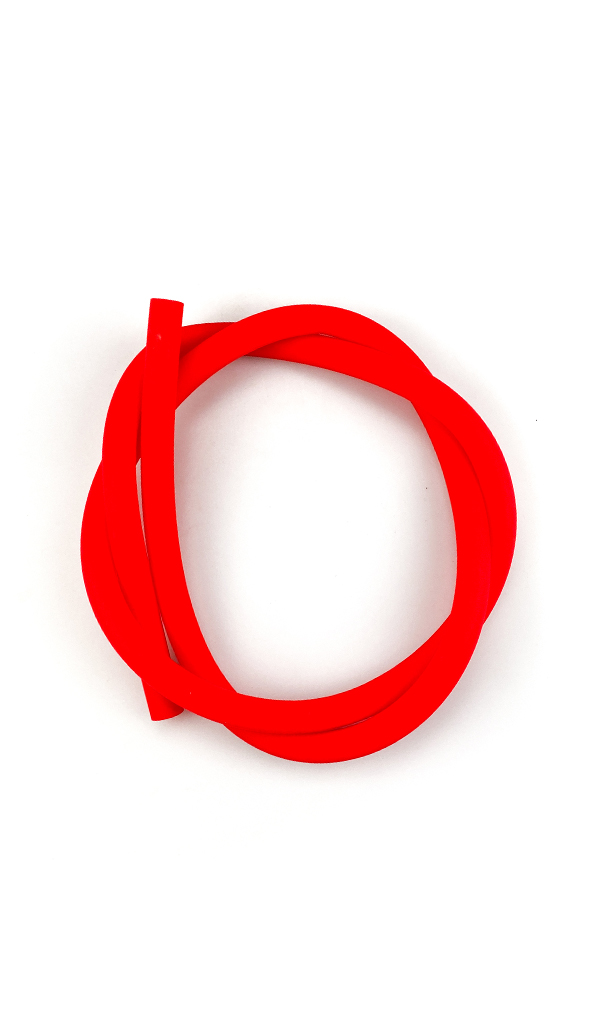 Hadice silikonová iSmoke SoftTouch, červená