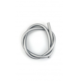 Hadice silikonová iSmoke SoftTouch, stříbrá