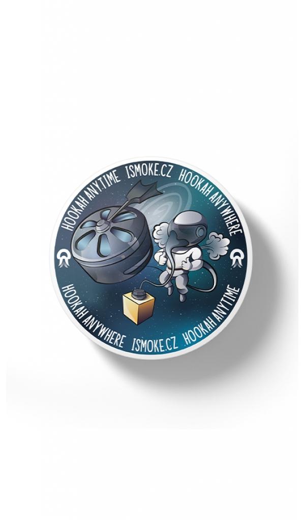Samolepka Hookah Everywhere - Astronaut