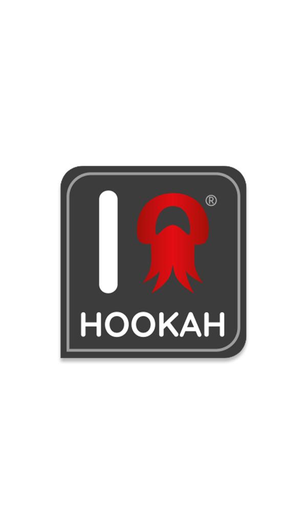 Samolepka I Love Hookah