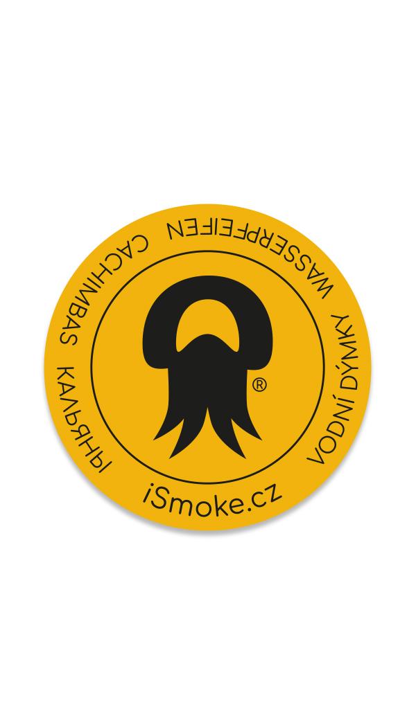 Samolepka iSmoke Yellow