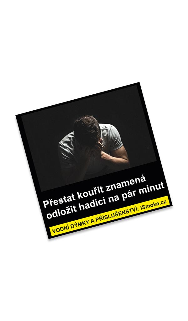 Samolepka Přestat kouřit