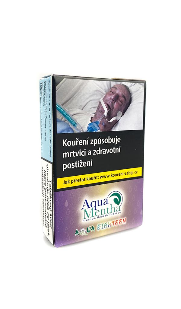 Tabák Aqua Mentha 50g — Aqua Eighteen