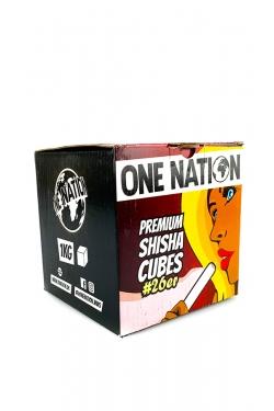 Uhlíky do vodní dýmky One Nation 1kg 26mm
